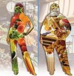 Estas son las Dietas Retorno al Paraíso Terrenal, para la Transición.